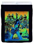 Jwinter #22 In Cosmicolors Duvet Cover