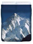 K2 At Dawn Pakistan Duvet Cover