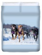 K9 Athletes Duvet Cover by Mircea Costina Photography