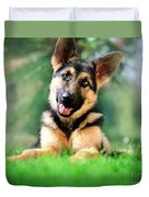 K9 Cute Duvet Cover