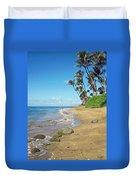 Ka'anapali Beach Duvet Cover