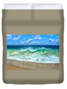 Kaanapali Shorebreak Maui Duvet Cover