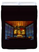 Kaiser Wilhelm Church Organ Duvet Cover