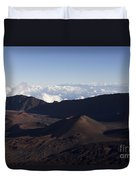 Kalahaku Overlook Haleakala Maui Hawaii Duvet Cover