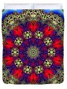 Kaleidoscope 51 Duvet Cover
