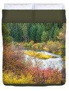 Sprague River Oregon Duvet Cover