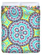 Kaleidoscopic Whimsy Duvet Cover