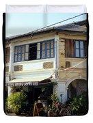 Kampot Epic Arts Cafe Duvet Cover