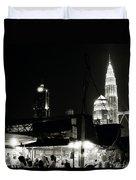 Kampung Baru Petronas Towers Duvet Cover