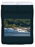 Kanawah Falls I - Spring Duvet Cover