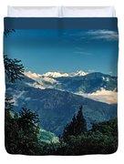 Kanchenjunga Duvet Cover