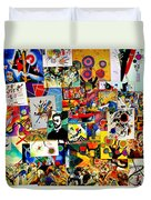 Kandisky Collage Duvet Cover