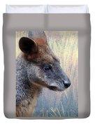 Kangaroo Potrait Duvet Cover