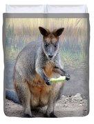 kangaroo Snack Duvet Cover