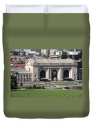 Kansas City - Union Station Duvet Cover