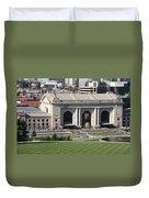 Kansas City - Union Station Duvet Cover