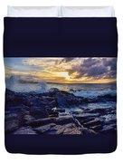Kapalua Sunset Duvet Cover