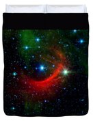 Kappa Cassiopeiae Shock Wave Duvet Cover