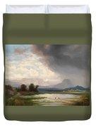 Karawanks Landscape Duvet Cover