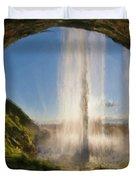Karen's Waterfalls Duvet Cover