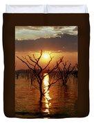 Kariba Sunset Duvet Cover