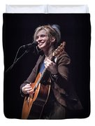 Karin Bergquist Lead Singer Of Over The Rhine Duvet Cover