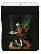 Karl Friedrich Abel (1725-1787) Duvet Cover