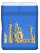 Karlskirche - Vienna Duvet Cover