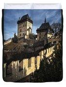 Karlstejn Castle Color Duvet Cover
