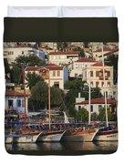 Kas Antalya Turkey  Duvet Cover
