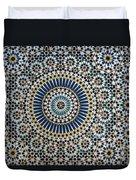 Kasbah Of Thamiel Glaoui Zellij Tilework Detail  Duvet Cover