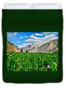 Kashmir Field Duvet Cover