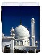 Kashmir Mosque Duvet Cover