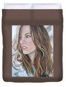 Kate Beckinsale Duvet Cover