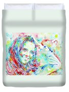 Kate Middleton Portrait.1 Duvet Cover