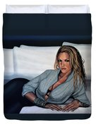 Katherine Heigl Duvet Cover