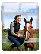 Katherine Pal 16 Duvet Cover