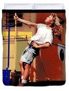 Katie Caboose Duvet Cover