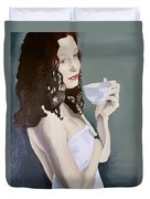 Katie - Morning Cup Of Tea Duvet Cover