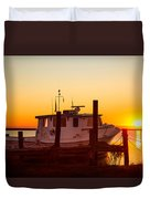 Katlyn At Sunrise Duvet Cover