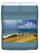 Kauai Beach - Morning Storm Duvet Cover