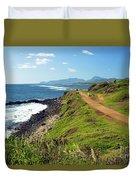 Kauai Coast Duvet Cover