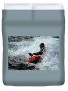 Kayaker 2 Duvet Cover