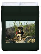 Kayaker's Best Friend Duvet Cover by James Peterson