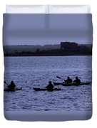 Kayaking Stonington Duvet Cover