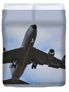 Kc135 Military Aircraft  Picture C Duvet Cover