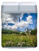 Kebler Pass Meadow Duvet Cover