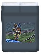 Keep Fire In Your Life No 5 Duvet Cover