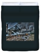 Keep Fire In Your Life No 9 Duvet Cover