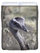 Keep In View - Emu Portrait Duvet Cover